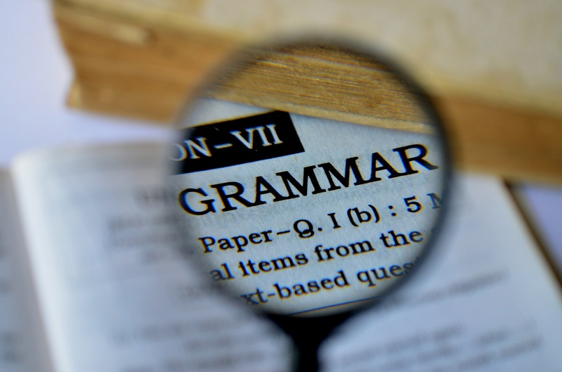 You cannot speak English by studying grammar