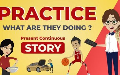 Present Continuous Story For Listening And Speaking